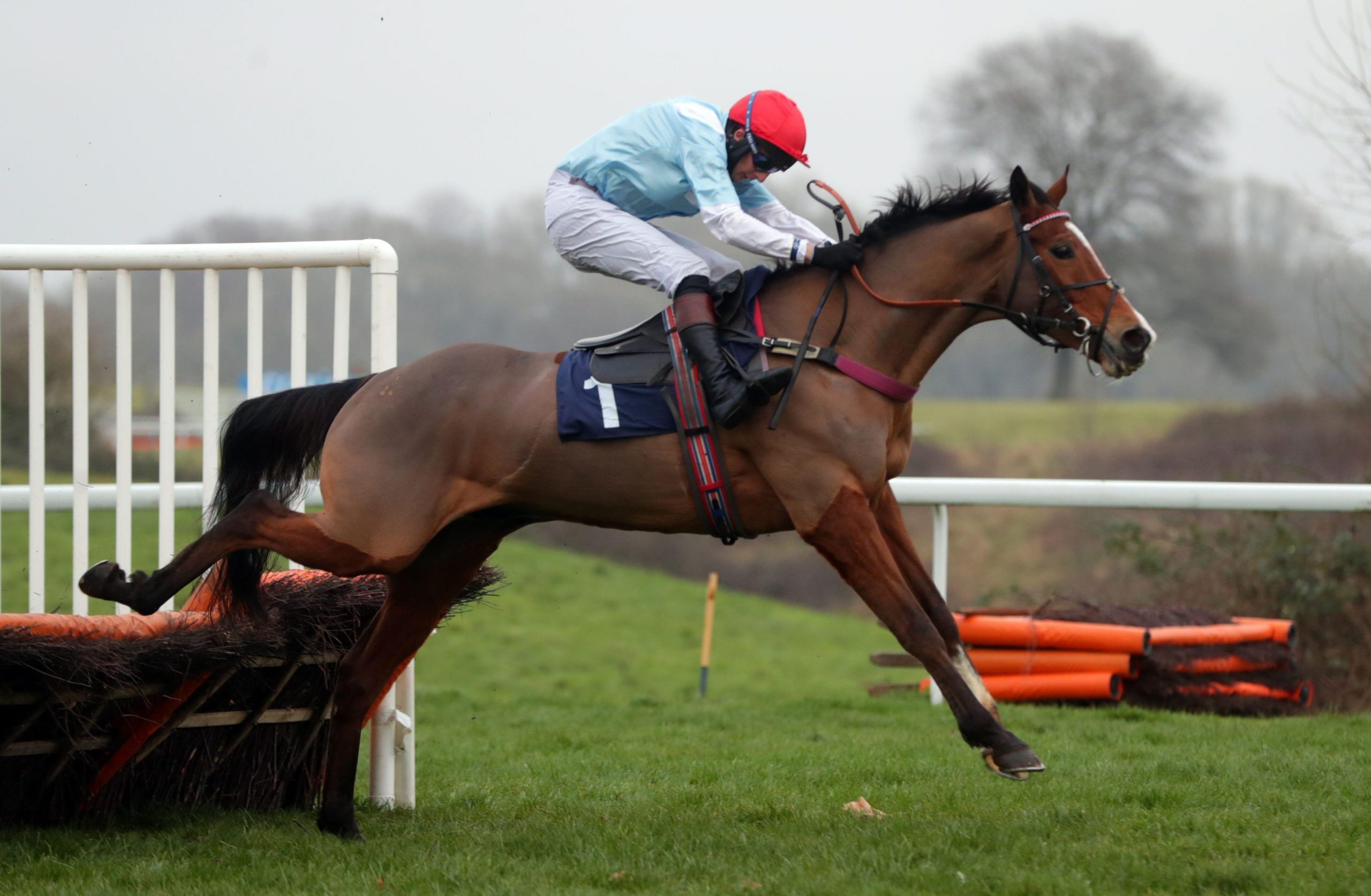 Witness Protection and James Best winning at Chepstow Racecourse