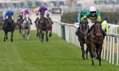Horse Racing - Aintree Grand National Meeting - Aintree Racecourse - 10/4/10 A.P McCoy wins the 4.15 John Smith's Grand National riding Don't Push it Mandatory Credit: Action Images / Carl Recine