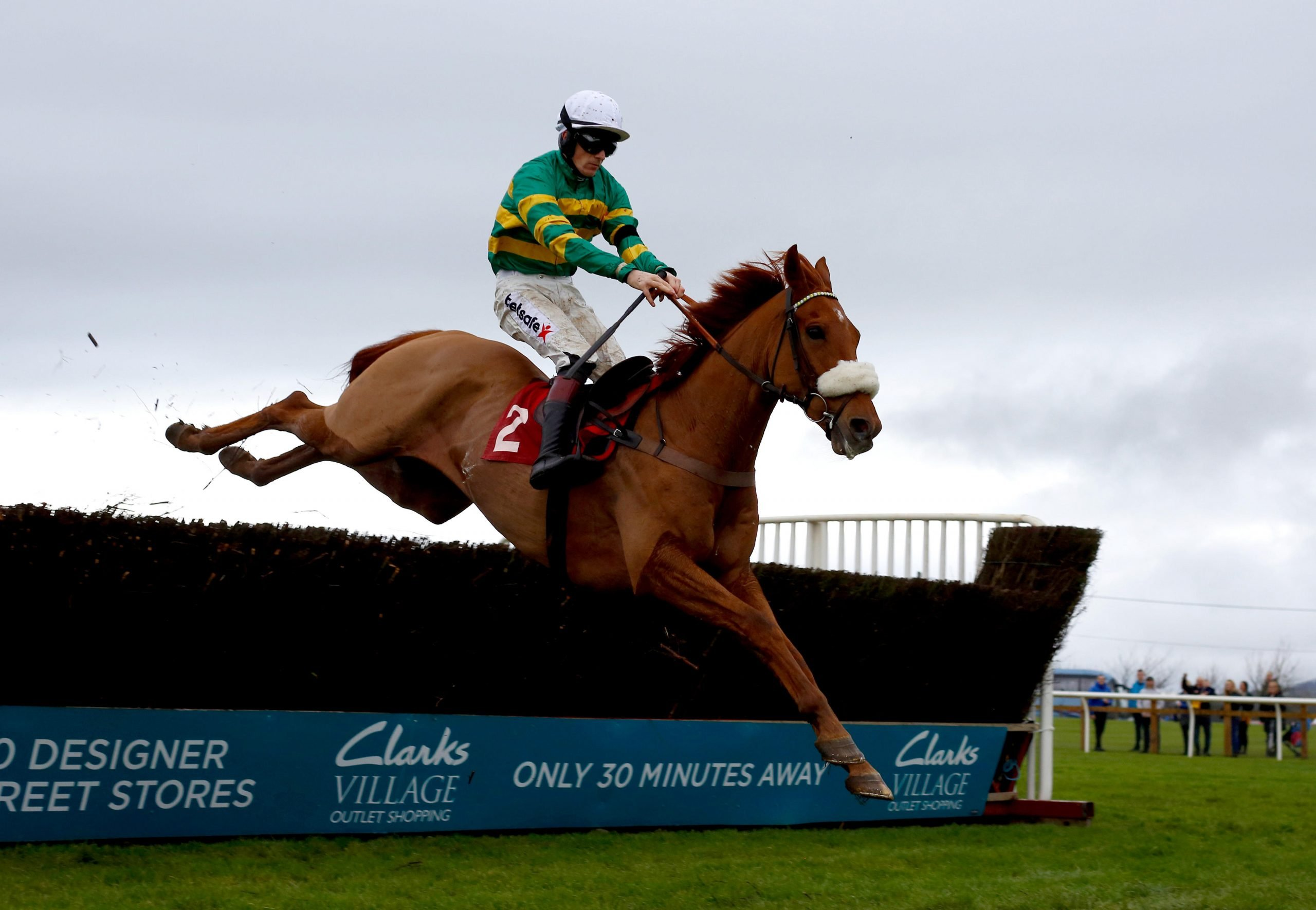 Modus and Sam Twiston-Davies made the leap over the last fence at Wincanton